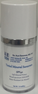 A E Skin Tinted Sunscreen Broad-Spectrum SPF 40