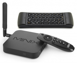 Minix Neo U1 Android TV Box 2G 16G + MINIX NEO A2 Lite Six-Axis Gyroscopic Air Mouse & Keyboard