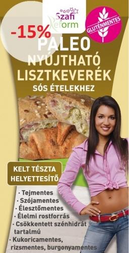1000g Szafi Reform Paleo nyújtható lisztkeverék sós ételekhez (gluténmentes, paleo és vegán) 1000g