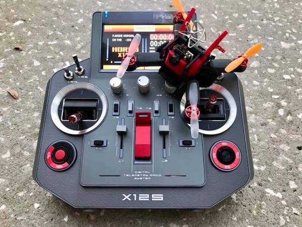 XBL117 Micro Brushless Quadcopter Frame  *Limited Time Free Motor guards*