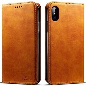 iPhone X ケース 手帳型 iphone X 手帳 耐衝撃 革 高級 アイフォンX ケース 財布型 レザー カバー